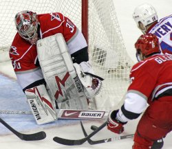 NHL Hockey New York Rangers vs Carolina Hurricanes in Raleigh, N.C.