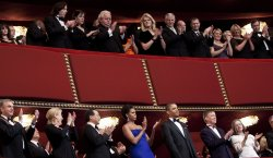 President and first lady Obama attend 2011 Kennedy Center Honors