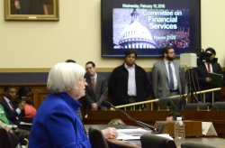 Federal Reserve Board Chairperson Yellen delivers semi-annual monetary policy on Capitol Hill