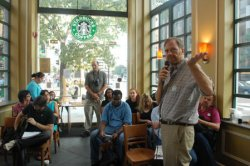 STARBUCKS HOSTS NATIONAL DAY OF DISCUSSION ON CLIMATE CHANGE IN WASHINGTON