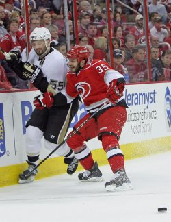 NHL Playoffs Pittsburgh Penguins vs Carolina Hurricanes in Raleigh, N.C.