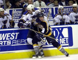 St. Louis Blues vs Nashville Predators NHL hockey
