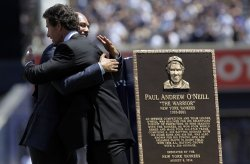 New York Yankees honor Paul O'Neill with a plaque in Monument Park