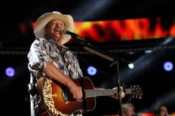 Alan Jackson performs at the 2012 CMA Music Festival in Nashville