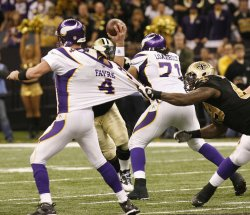 NFC Championship game between New Orleans Saints and Minnesota Vikings