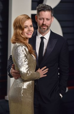 Amy Adams and Darren Le Gallo arrive for the Vanity Fair Oscar Party in Beverly Hills