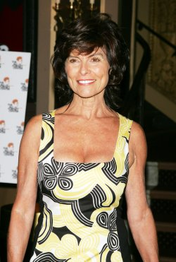 Adrienne Barbeau arrives for Bea Arthur Memorial Service in New York