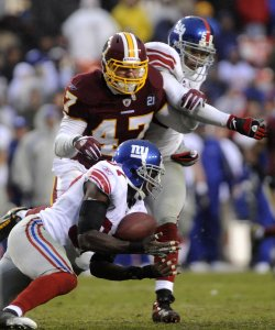 Washington Redskins vs New York Giants