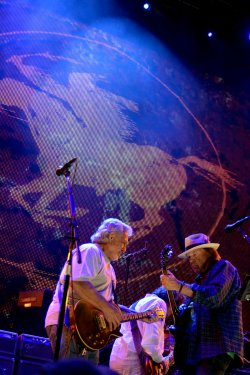 Neil Young and Crazy Horse at Farm Aid in Hershey, PA