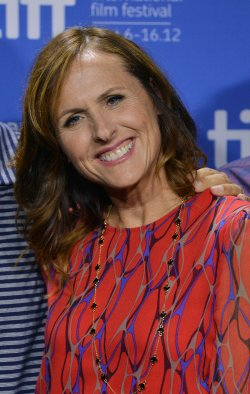 Molly Shannon attends 'Hotel Transylvania' press conference at the Toronto International Film Festival
