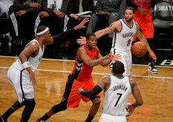 Toronto Raptors vs Brooklyn Nets in Game 6 of the Eastern Conference Quarterfinals