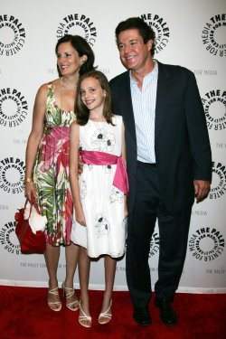 """Michael O'Leary and family arrive at the Goodbye to """"Guiding Light"""" event in New York"""