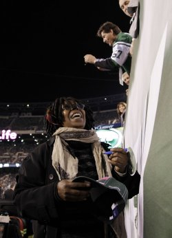 Whoopi Goldberg at MetLife Stadium in New Jersey