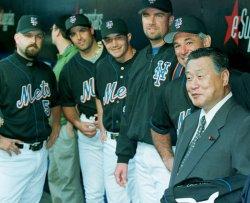 Mori at Mets Game