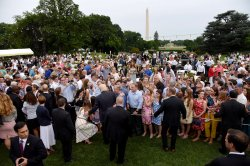 President Trump and First Lady Melania Trump host the Congressional Picnic
