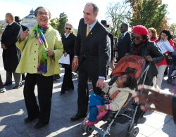 Sen. Casey marches with health care reform supporters in Washington