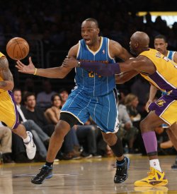 Los Angeles Lakers vs New Orleans Hornets Game 2 NBA Western Conference Playoffs in Los Angeles