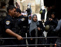 High Israeli Security In Old City Jerusalem For Friday Muslim Prayers