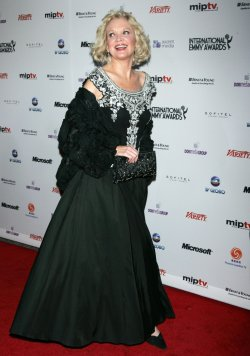 Christine Ebersole arrives for the 38th International Emmy Awards in New York
