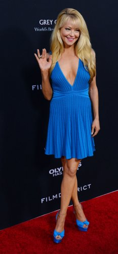"Charlotte Ross attends the ""Olympus Has Fallen"" premiere in Los Angeles"
