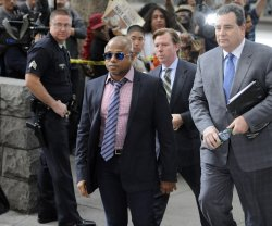 Randy Jackson arrives at the courthouse for Dr. Conrad Murray's sentencing in Los Angeles