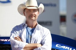 John Rich at the Charlotte Motor Speedway in Concord, North Carolina