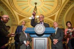 Senators Speak on the Republican Health Care Vote in Washington, D.C.