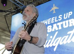 Bob Weir performs at Wheels Up Super Bowl Party