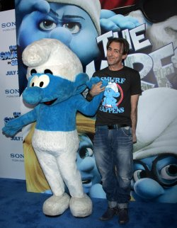 """Alan Cumming arrives for the """"The Smurfs"""" in 3D Premiere in New York"""