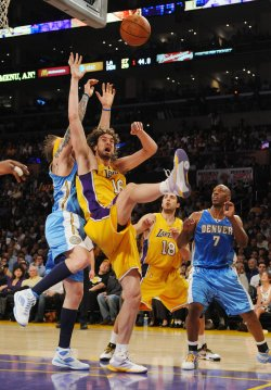 Los Angeles Lakers vs Denver Nuggets Game 2 NBA Western Conference finals in Los Angeles