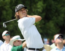 Aaron Baddeley during the Tour Championship Golf Championship in Atlanta
