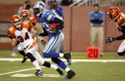 CINCINNATI BENGALS AT DETROIT LIONS