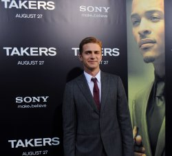 "Hayden Christensen attends the ""Takers"" premiere in Los Angeles"