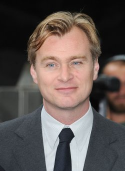 "Christopher Nolan attends the European premiere of ""The Dark Knight Rises"" in London"