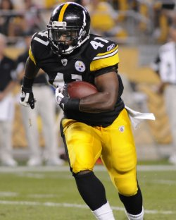 Penalty Nullifies Jonathan Dwyer. TD in Pittsburgh