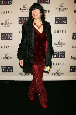 Christiane Amanpour arrives at the Keep a Child Alive's 6th Annual Black Ball in New York