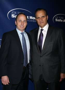 Brian Cashman and Joe Torre arrive for the Joe Torre Safe At Home Foundation 8th Annual Gala in New York