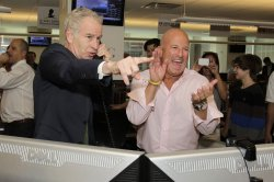 Tennis legend John McEnroe at the 2012 BTIG Commissions for Charity Day in New York
