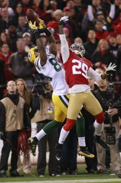 San Francisco 49ers vs Green Bay Packers in NFC Divisional Playoff in San Francisco