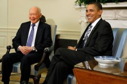 Obama Meets With Minister Mentor Of Singapore in Washington