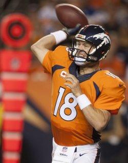 NFL Indianapolis Colts vs Denver Broncos