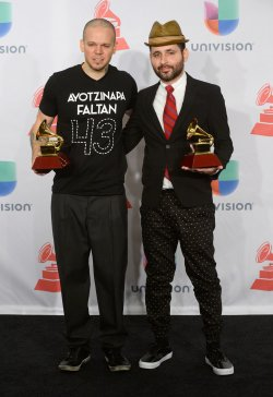 2014 Latin Grammy Awards in Las Vegas, Nevada