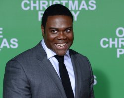 """Sam Richardson attends the """"Office Christmas Party"""" premiere in Los Angeles"""