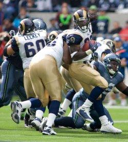 St Louis Ram vs Seattle Seahawks in Seattle