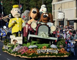 The 125th Tournament of Roses Parade held in Pasadena, California