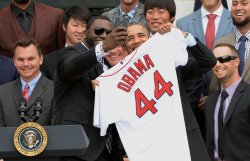 President Obama Honors the Boston Red Sox at the White House