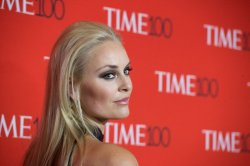 Lindsey Vonn arrives at the TIME 100 Gala in New York