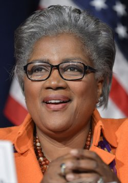 DNC Vice Chair Donna Brazile attends DNC meeting in Washington