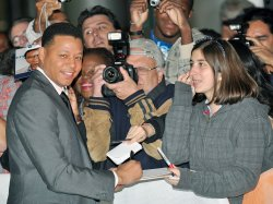 Terrence Howard attends 'Winnie' world premiere at the Toronto International Film Festival
