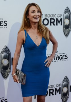 "Jane Seymour attends ""The Book of Mormon"" premiere in Los Angeles"